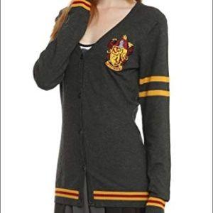 Harry Potter Gryffindor Cardigan Sweater S